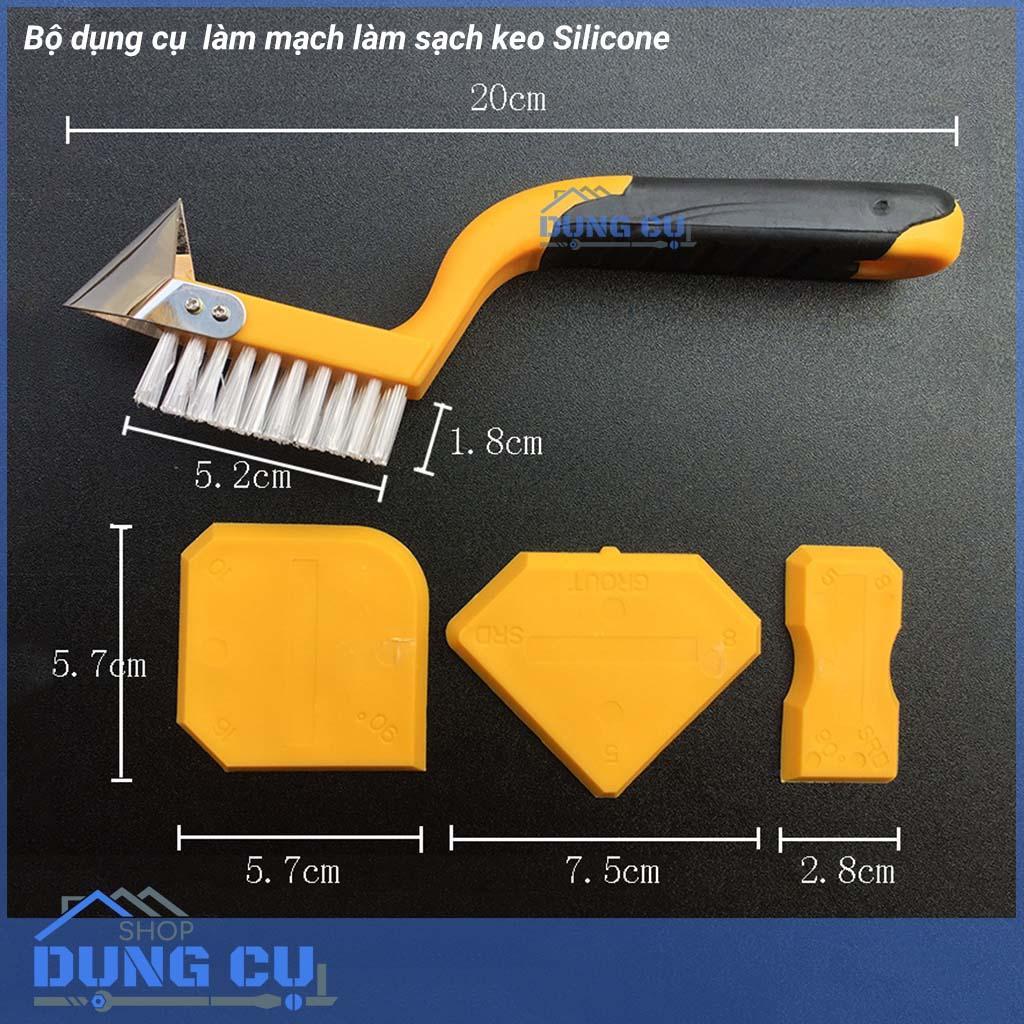 Bộ dụng cụ xử lý mạch silicone và làm sạch keo