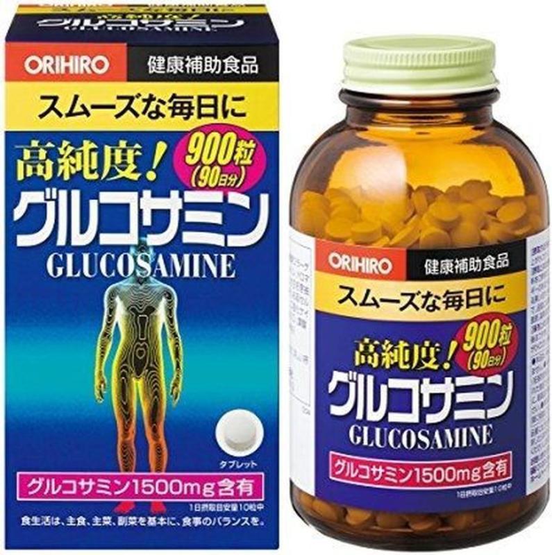 Viên Uống Glucosamine Orihiro 1500mg, 900 viên của Nhật Bản cao cấp