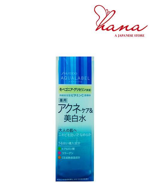 Nước hoa hồng Shiseido  Aqualabel 200ml -  dành cho da mụn tốt nhất