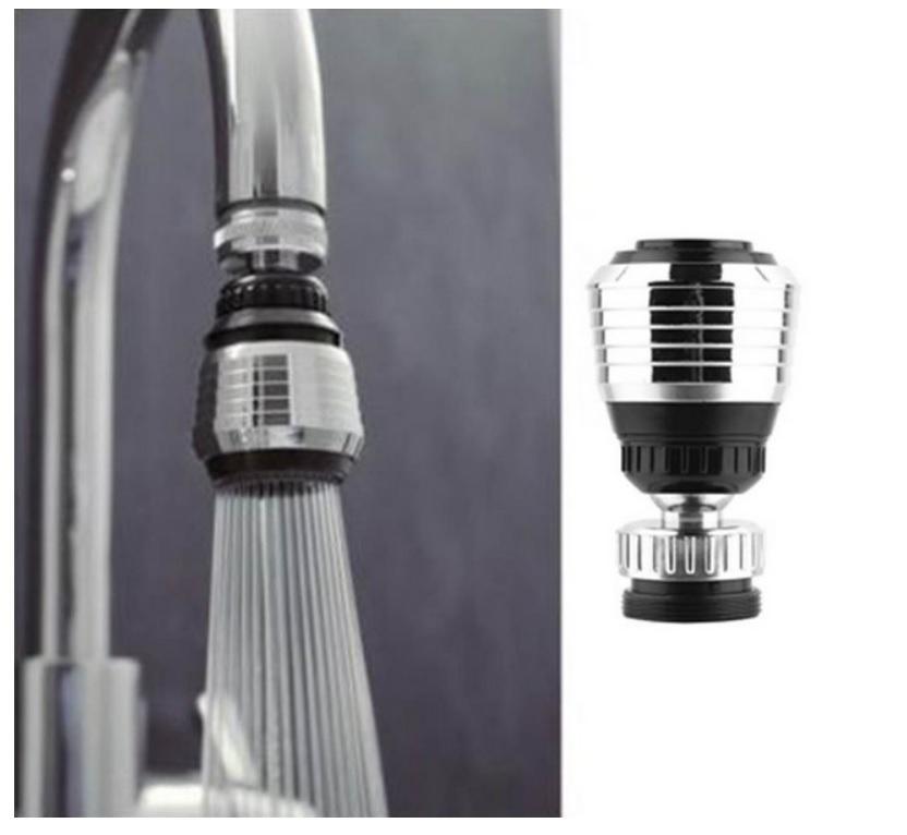 Hình ảnh Đầu vòi rửa chén tạo tia nước xòe - vòi bếp 2 chế độ