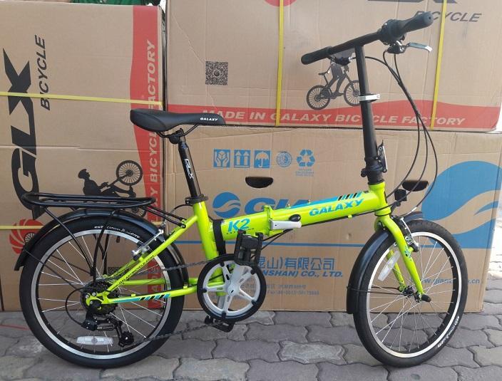 xe đạp thể thao gập Galaxy K2 2018