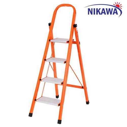 Thang nhôm ghế  4 bậc Nikawa NKS04 Nhật Bản