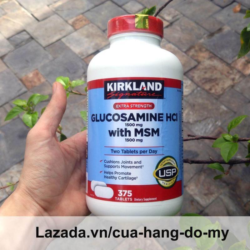 Viên Uống Bổ Xương Khớp Glucosamin Kirkland Mỹ 375 Viên [Date MỚI] - Hỗ trợ giảm đau, chống thoái hóa xương khớp