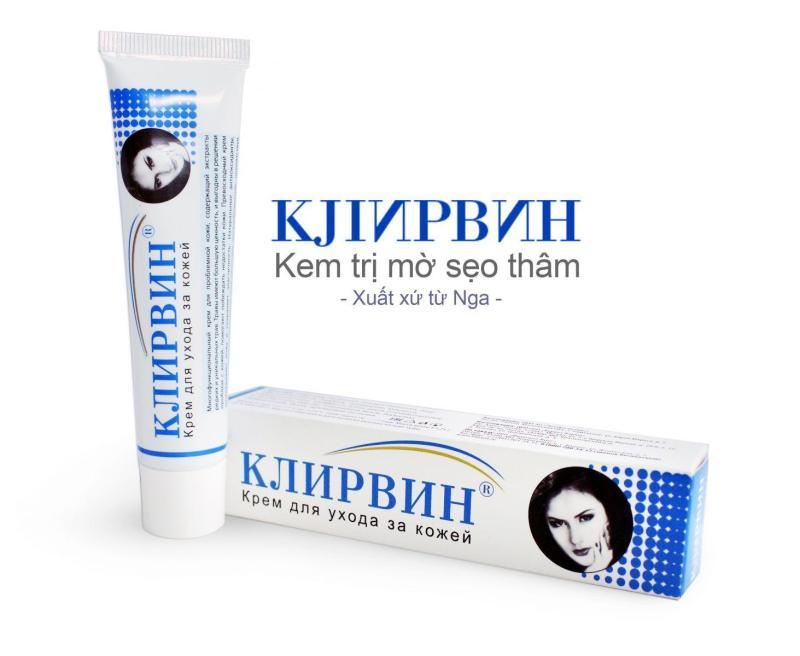 COMBO 3 tuýp kem trị sẹo cao cấp KLIRVIN NGA cao cấp