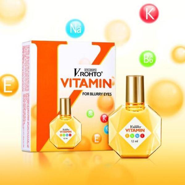 Nhỏ mắt V-Rohto Vitamin