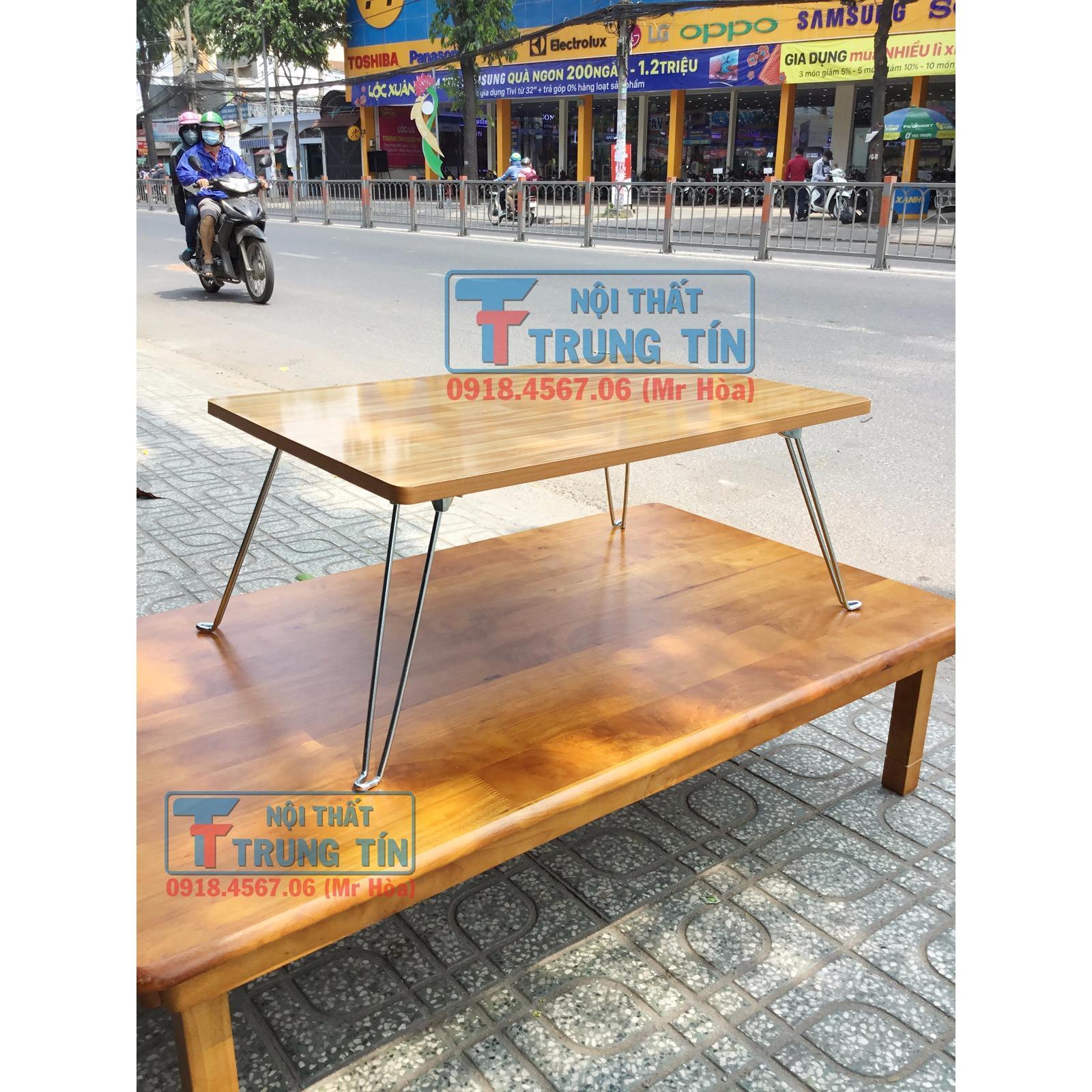 Hình ảnh bàn laptop xếp gọn 40*60 cm