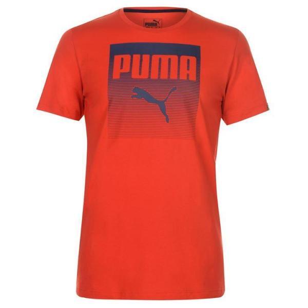 Áo thun nam Puma Cat QT (màu Đỏ) - Hàng chuẩn châu Âu