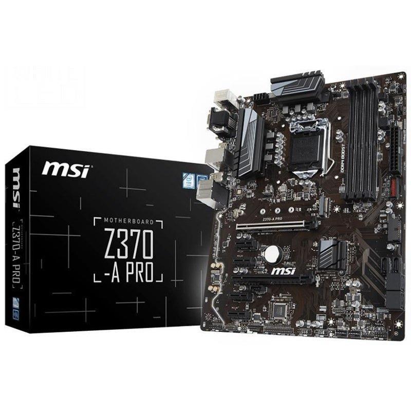 Hình ảnh Mainboard MSI Z370-A PRO (LGA1151v2-CoffeeLake)