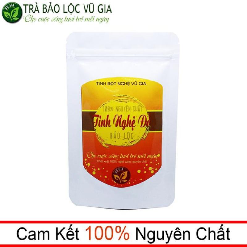 Tinh Bột Nghệ Đỏ Nguyên Chất VG ( túi 100gr) cao cấp