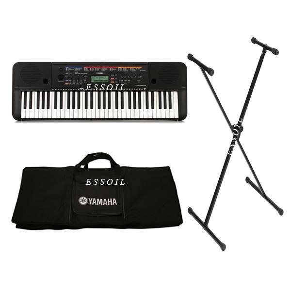Combo đàn organ Yamaha PSR-E263+ bao đàn+ chân đàn