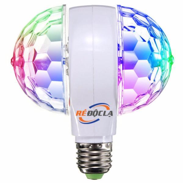 Đèn led xoay nhiều màu E27 LED MAGIC BALL LIGHT