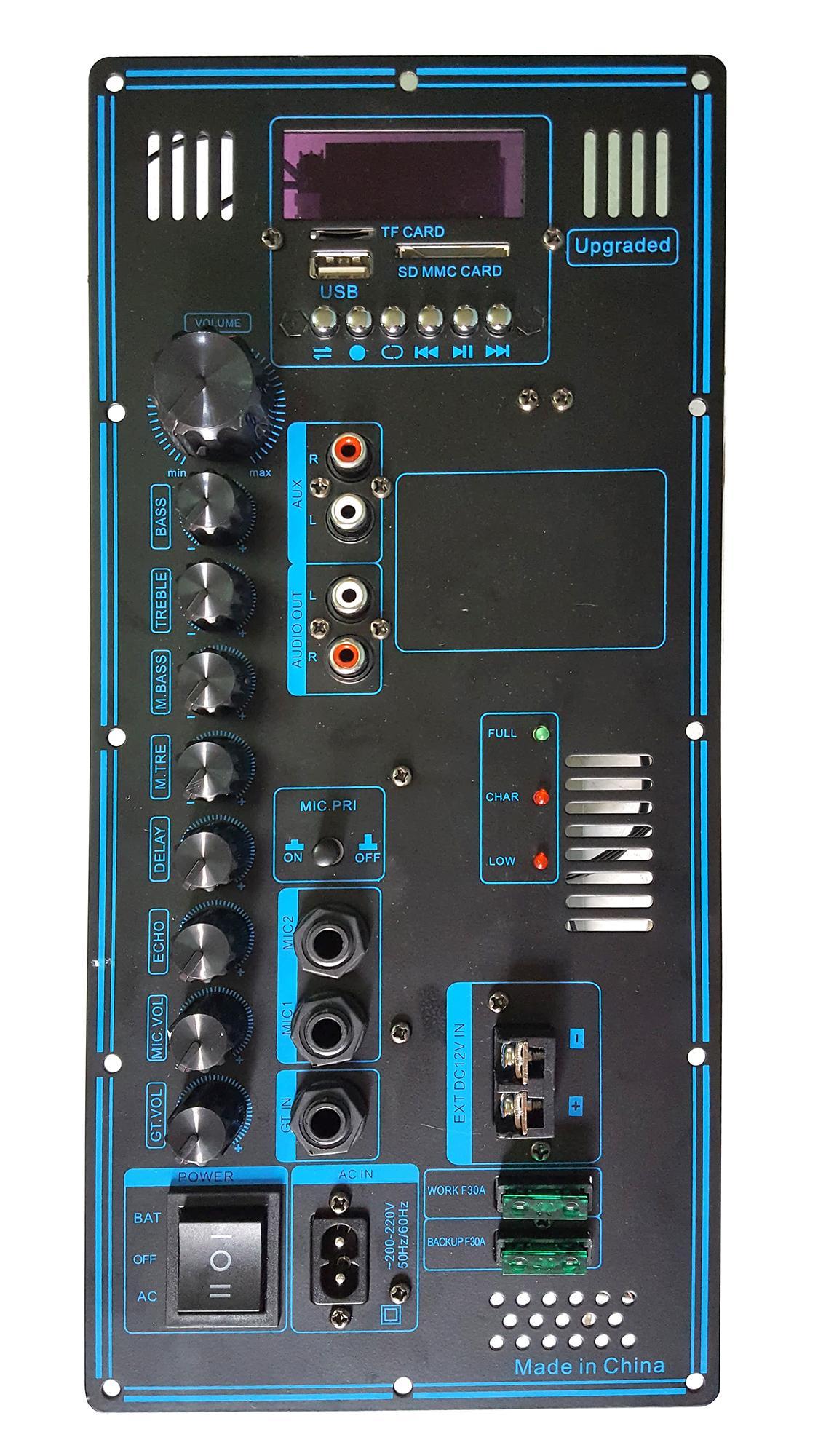 Hình ảnh Board mạch loa kéo cho các dòng GD - bass 4 tấc
