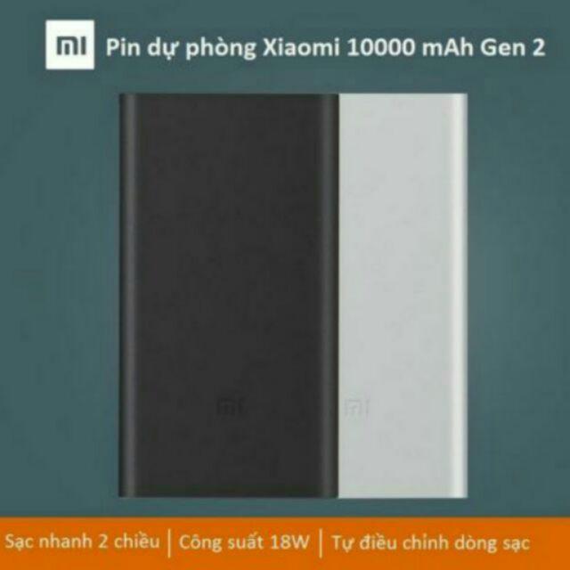 Giá Bán Sạc Dự Phong Xiaomi Mi Gen 2 10 000 Mah Chinh Hang Mới