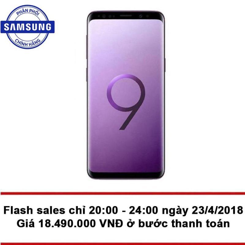 Samsung Galaxy S9 64GB Ram 4GB (Tím LiLac) - Hãng Phân phối chính thức + Tặng phiếu mua hàng 2.000.000 VNĐ