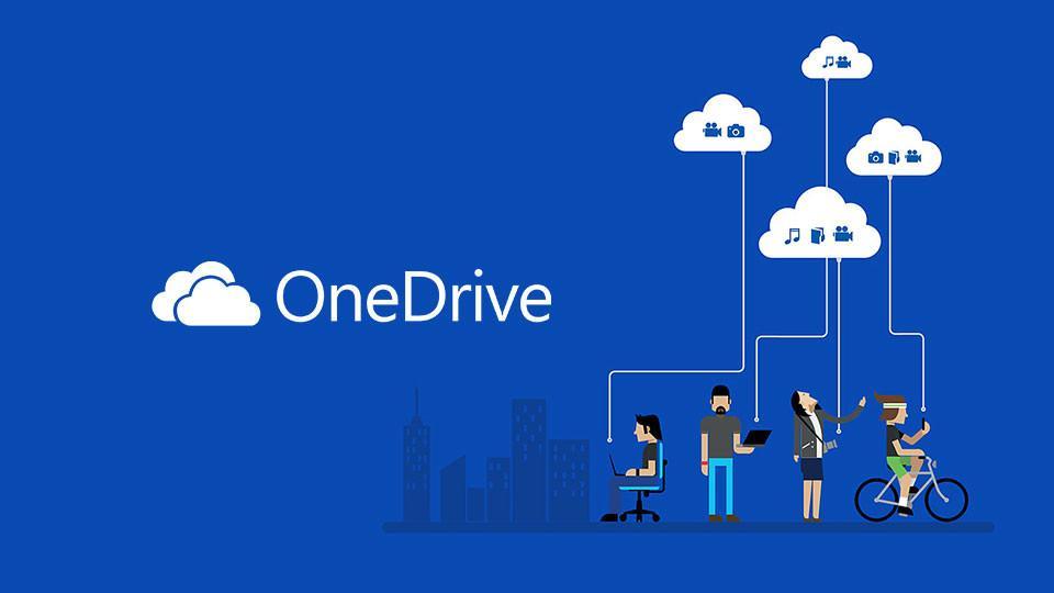 Hình ảnh Onedrive 5TB của Microsoft sử dụng lưu dữ liệu và chia sẻ cho bạn bè đồng nghiệp
