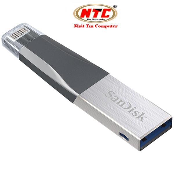 Bảng giá USB 3.0 OTG SanDisk iXpand™ Mini Flash Drive 16GB (Bạc) - Nhất Tín Computer Phong Vũ