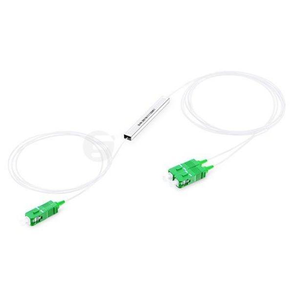 Bảng giá Bộ chia quang PLC Splitter 1x2 SC/APC phi 0.9mm dài 1M Phong Vũ