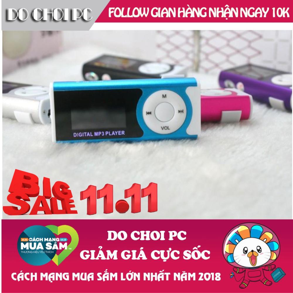 Hình ảnh Máy nghe nhạc MP3 LCD dài màu ngẫu nhiên (kèm tai nghe)
