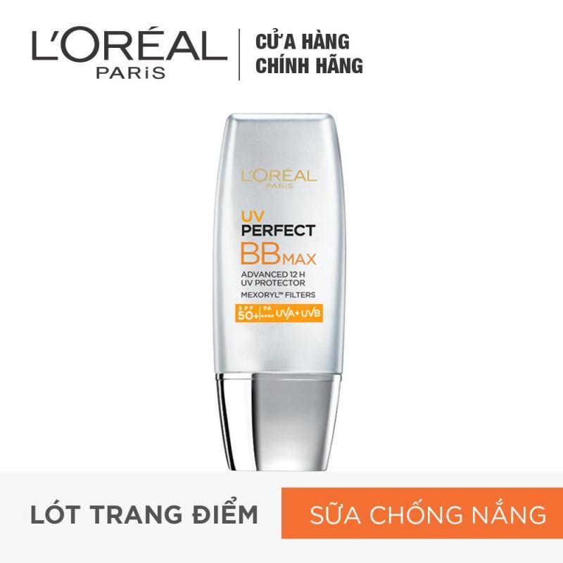 Kem trang điểm chống nắng LORÉAL BB Cream UV Perfect Max SPF 50+ PA+++ 12h 30ml nhập khẩu