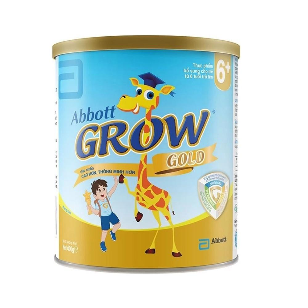 Sữa Abbott Grow Gold 6+ 400g (6 tuổi trở lên)