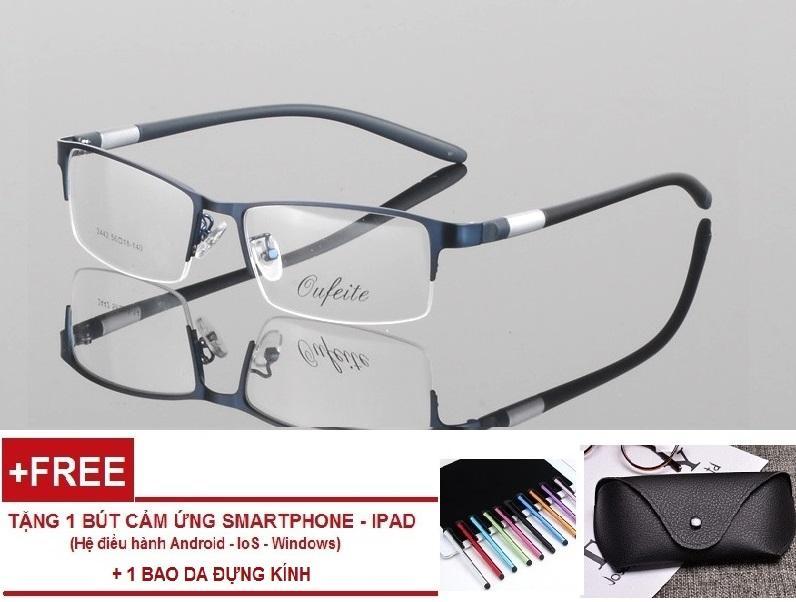 Hình ảnh Gọng kính cận dẻo khung Aluminium cao cấp thời trang LE15