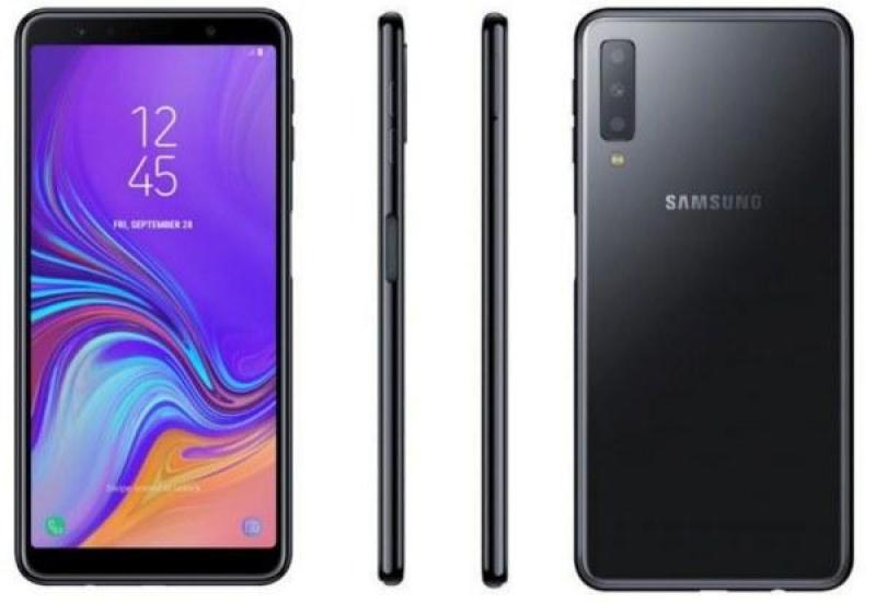 Điện thoại Samsung Galaxy A7 2018 - Hàng phân phối chính hãng