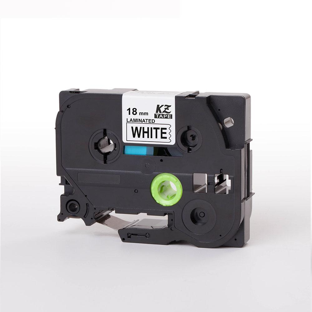 Compatible For Brother P-Touch Laminated Label Tape Tze241 18mm Black On White* By Yueyi Store.