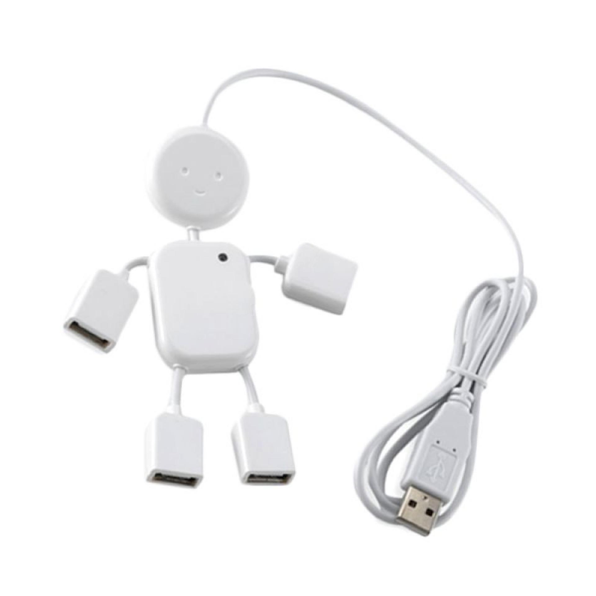 Hình ảnh Hub chia USB thành 4 cổng hình robot