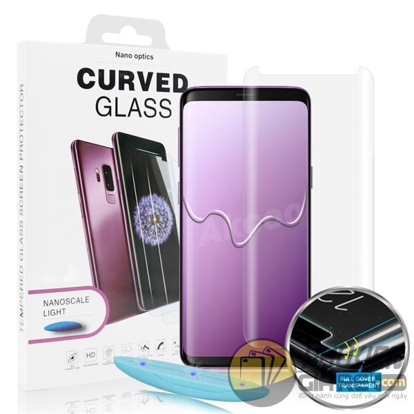 Hình ảnh Cường lực Full màn hình công nghệ mới đèn UV samsung S7Edge, S8, S8PLUS, S9, S9PLUS, NOTE8, NOTE 9