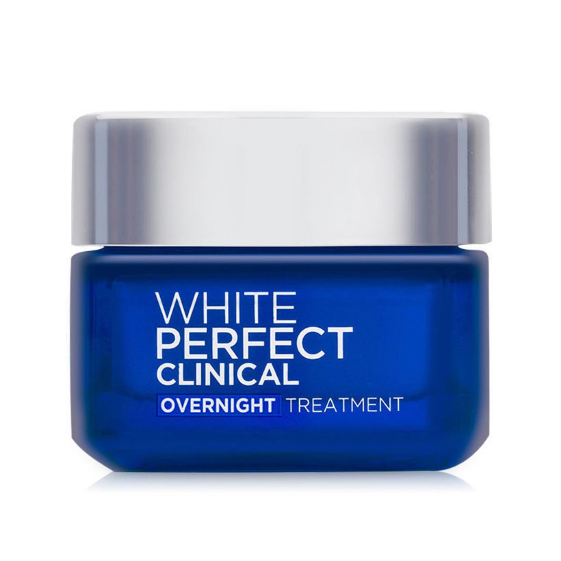 Kem dưỡng ban đêm giảm thâm nám và trắng mịn LOreal White Perfect Clinical 50ml