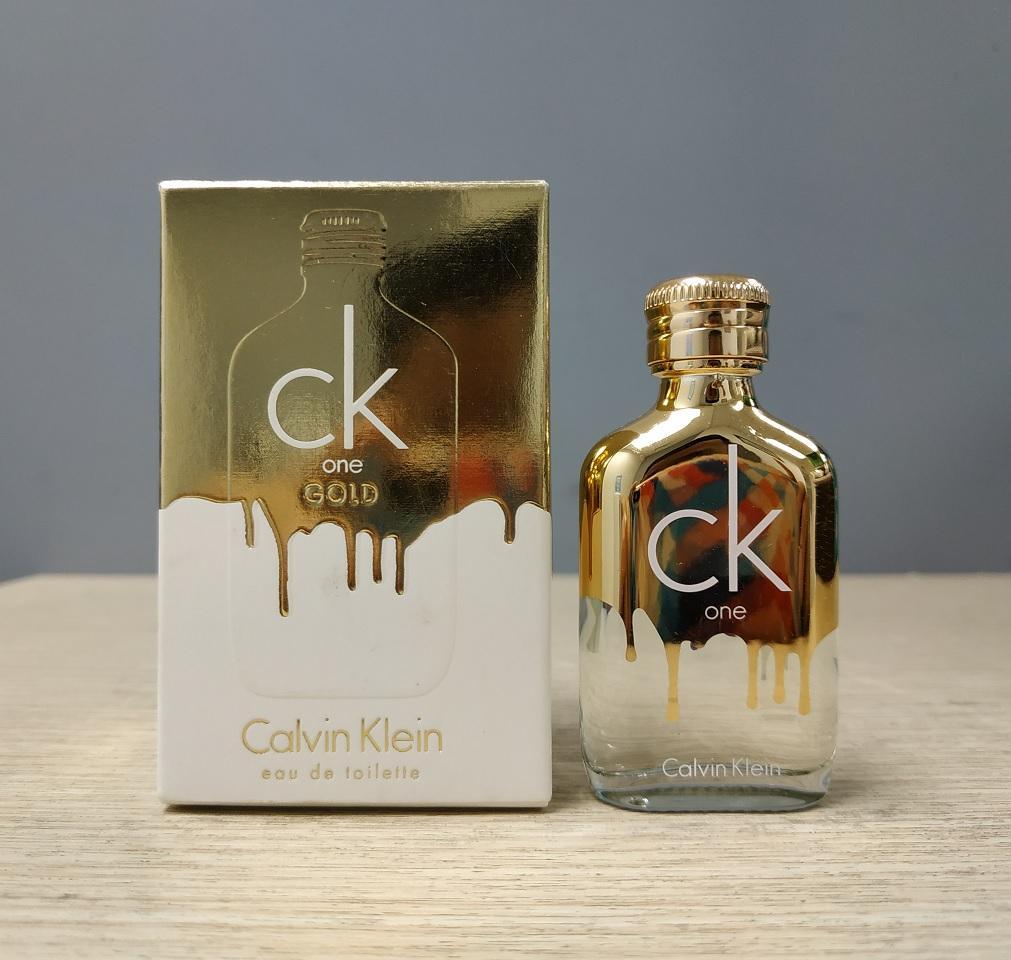 Nước hoa Unisex CK One Gold EDT 10ml