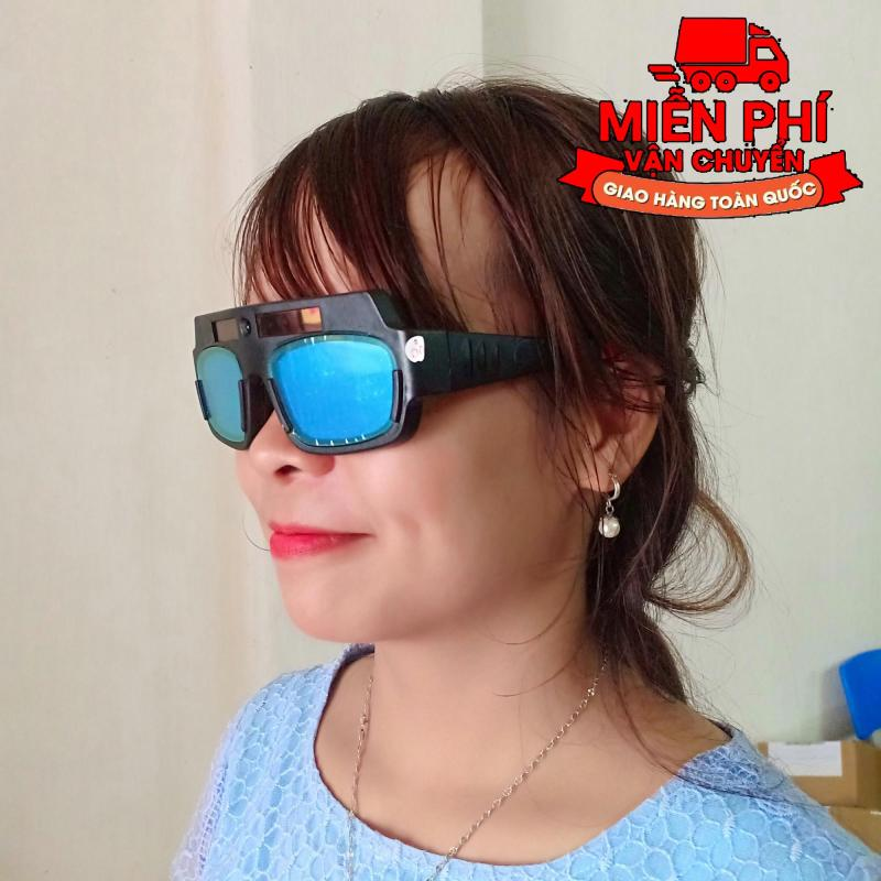 Kính hàn điện tử tx 012, tự động cảm biến ánh sáng (KH04) + Tặng kính bảo hộ