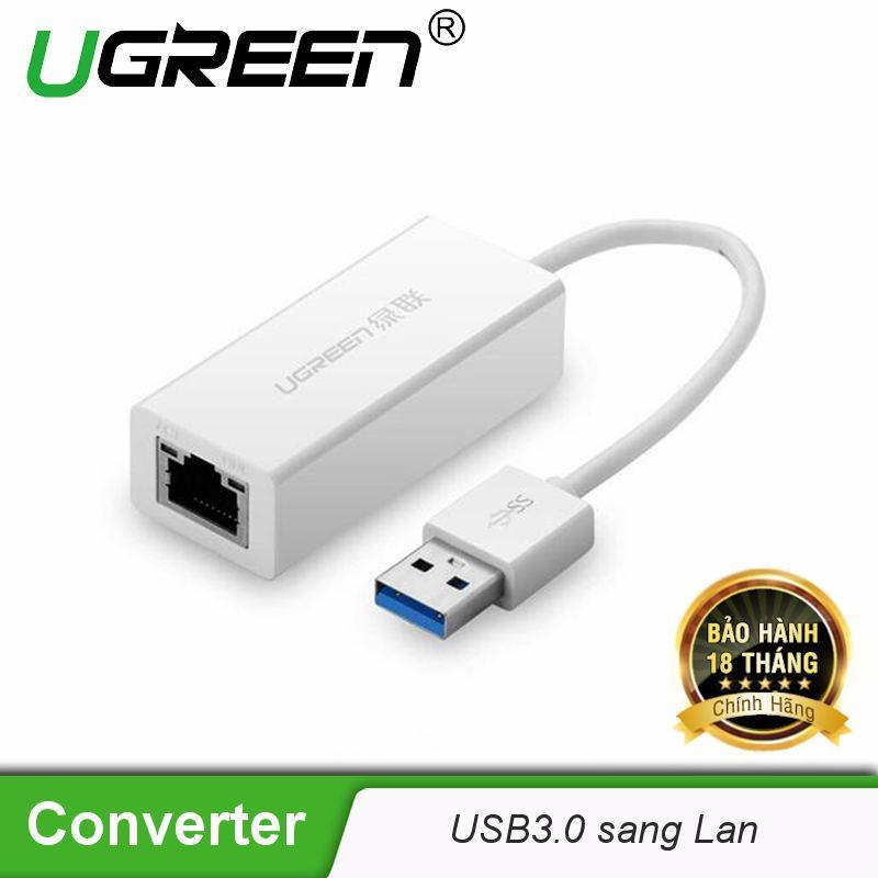 Bộ chuyển đổi USB 3.0 sang LAN 10/100/1000 Mbps CR111 20255 - Hãng phân phối chính thức