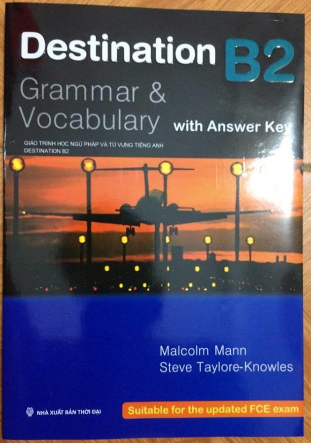 Mua Destination Grammar & Vocabulary with Answer Key B2