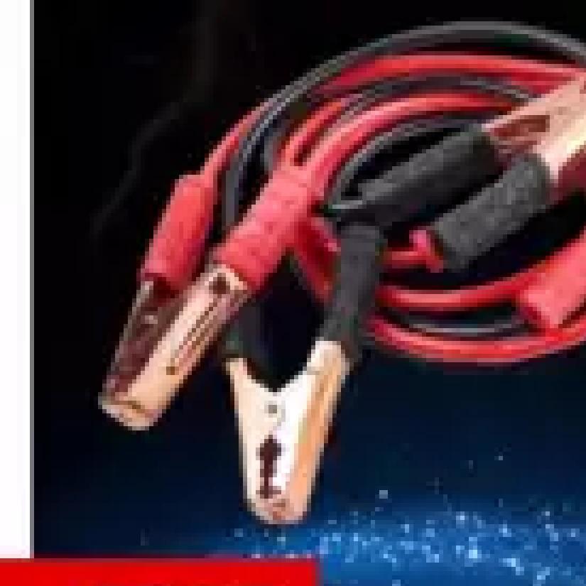 Bộ dây câu bình ắc quy tặng kèm găng lau xe ô tô trị giá 55k