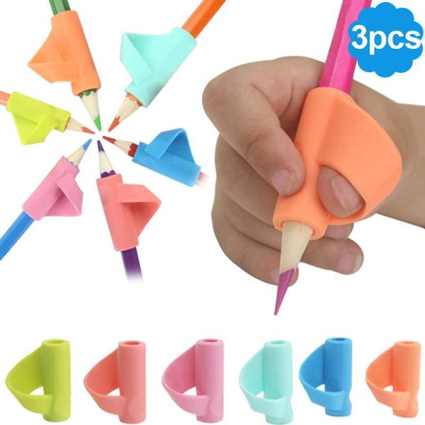 Mua fancydream 3 Pcs/Lot Children Writing Posture Correction Device Silicone Pencil Holder Pen Write Aid Grip Stationery