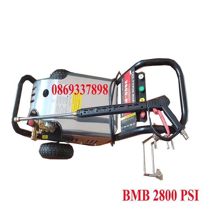 Máy rửa xe áp lực, đẩy tay Bamboo BmB 2800 PSI