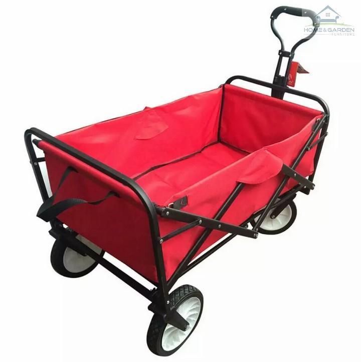 Xe đẩy hành lý xếp gọn 260L EuroQuality (Đỏ, Dark Blue) - Home and Garden