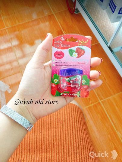 Hình ảnh Son dưỡng chống thâm môi, làm hồng môi hương dâu Thái lan