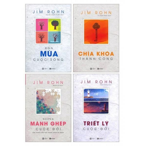 Mua Bộ 4 cuốn Jim Rohn - NXB Thái Hà