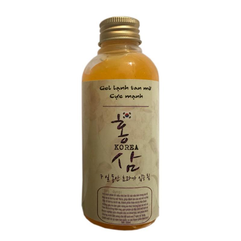 Gel lạnh Tan mỡ Cực Mạnh ( Hàn Quốc 300ml ) nhập khẩu