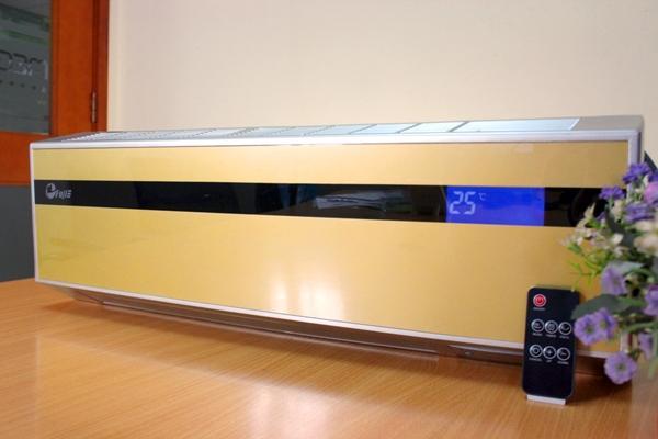 Máy sưởi điều hòa treo tường Ceramic FujiE CH-2500 có điều khiển từ xa 3 chế độ mát -ấm- nóng