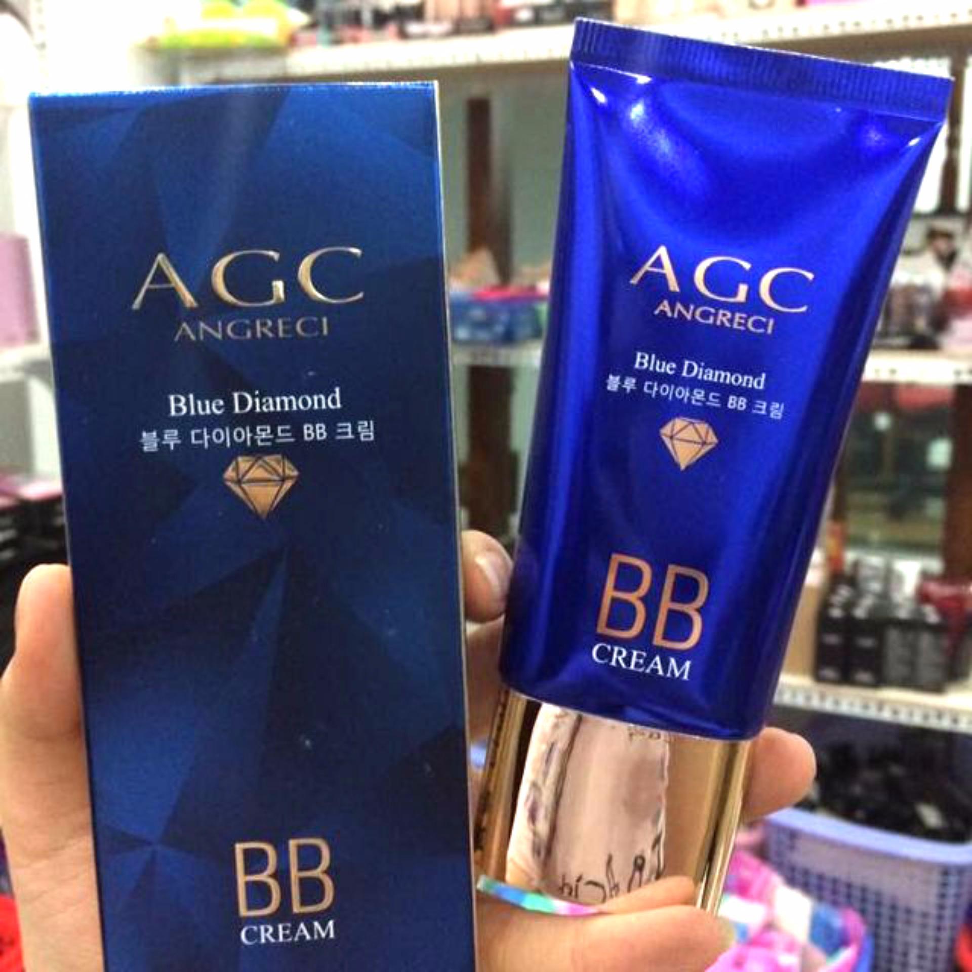 Hình ảnh Kem nền BB AGC Blue Diamond siêu che khuyết điểm Hàn Quốc (xanh)