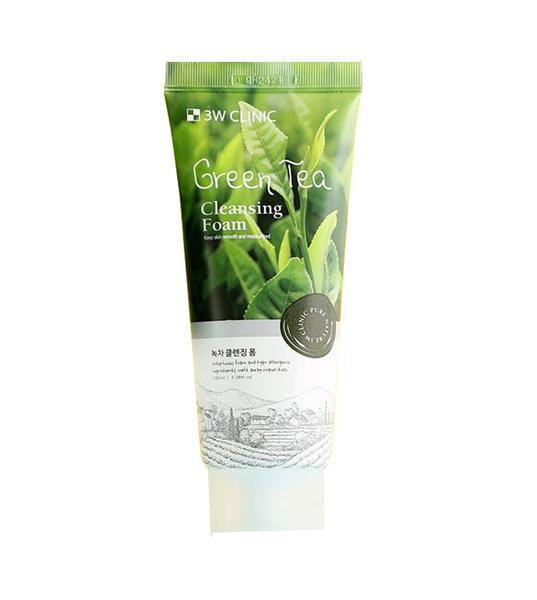 Sữa rửa mặt chiết xuất từ trà xanh Green Tea Cleansing Foam tốt nhất