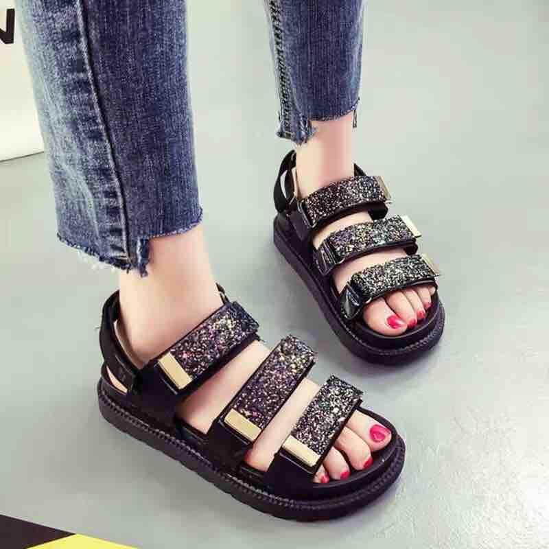 Sandal kim tuyến hàng đẹp