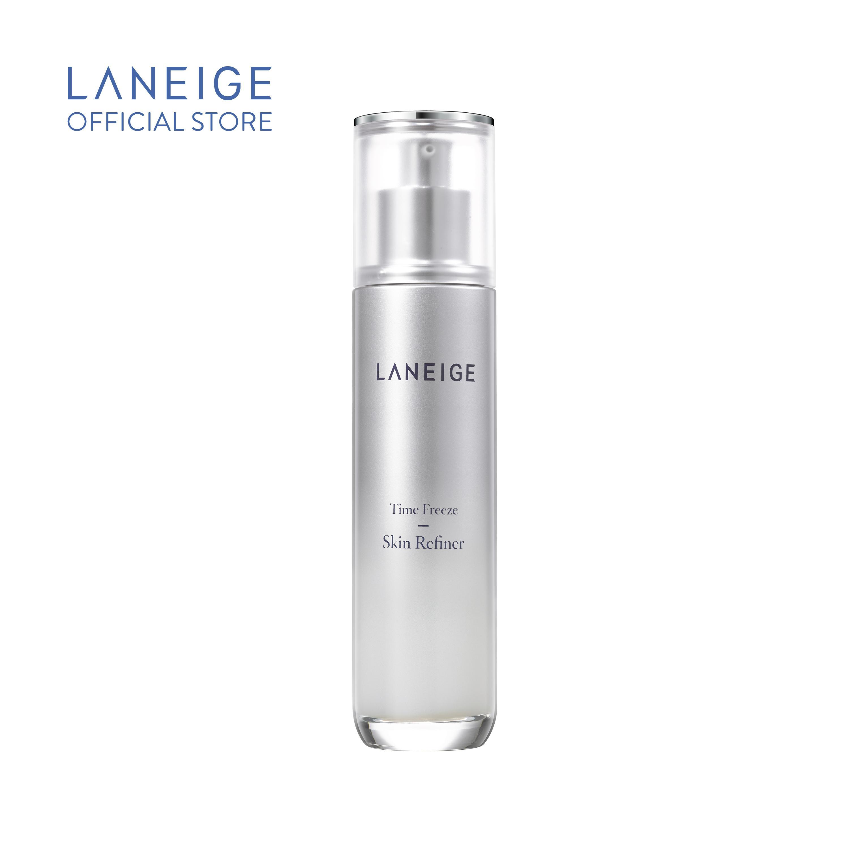Nước cân bằng giúp ngăn ngừa lão hóa da hiệu quả và sáng hồng rạng rỡ Laneige Time Freeze Skin Refiner 120ml