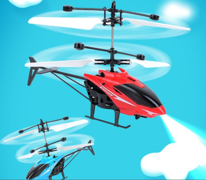 [CÓ VIDEO] Máy bay điều khiển từ xa cảm ứng bằng tay A001 dành cho bé 8