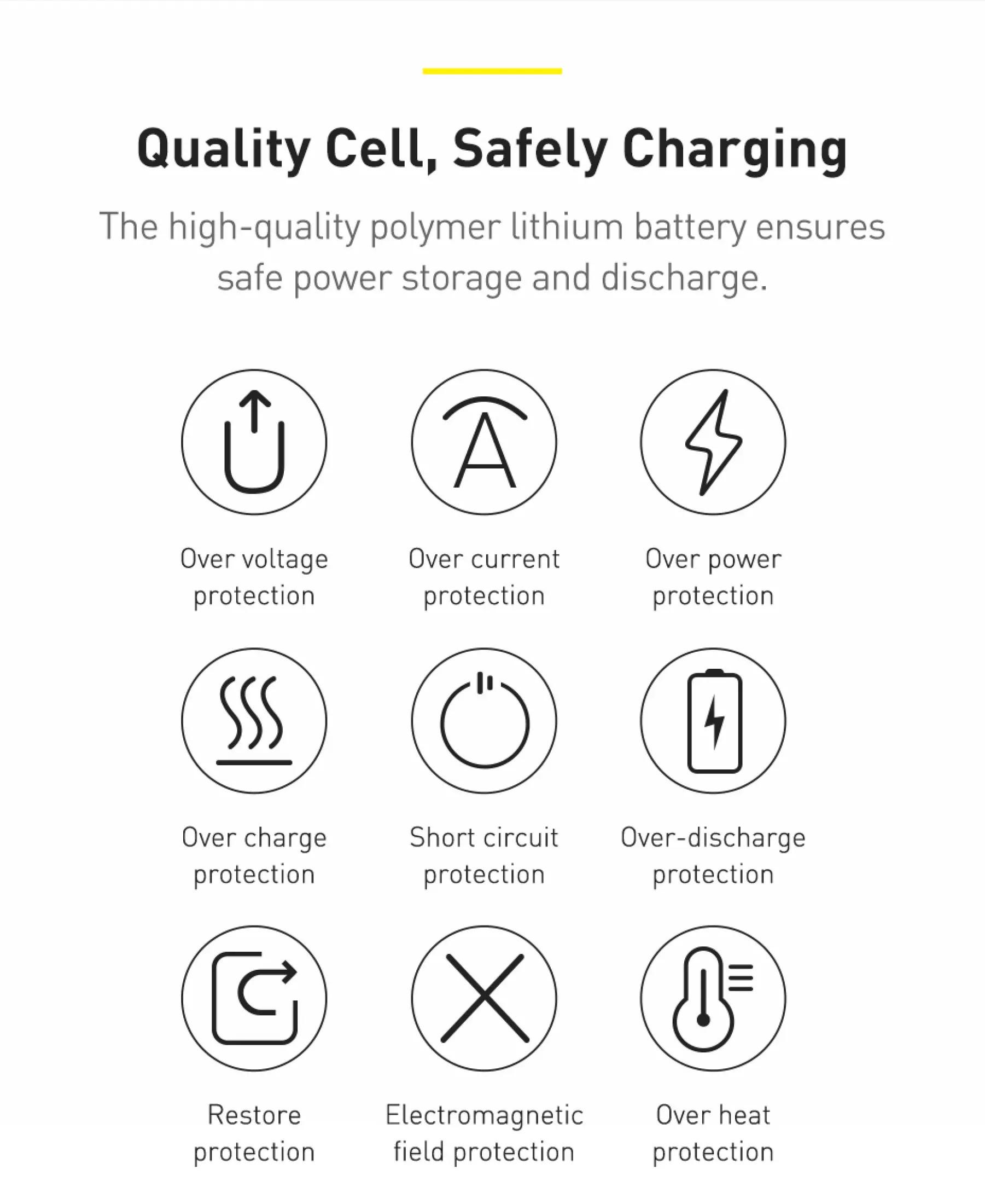 Pin sạc dự phòng Baseus dung lượng 10000mAh công suất 15W hoặc 20W, màn hình LED hiển thị, sạc nhanh QC, PD cho iPhone, Samsung, Xiaomi,....-Phân phối chính hãng tại Baseus Việt Nam 5