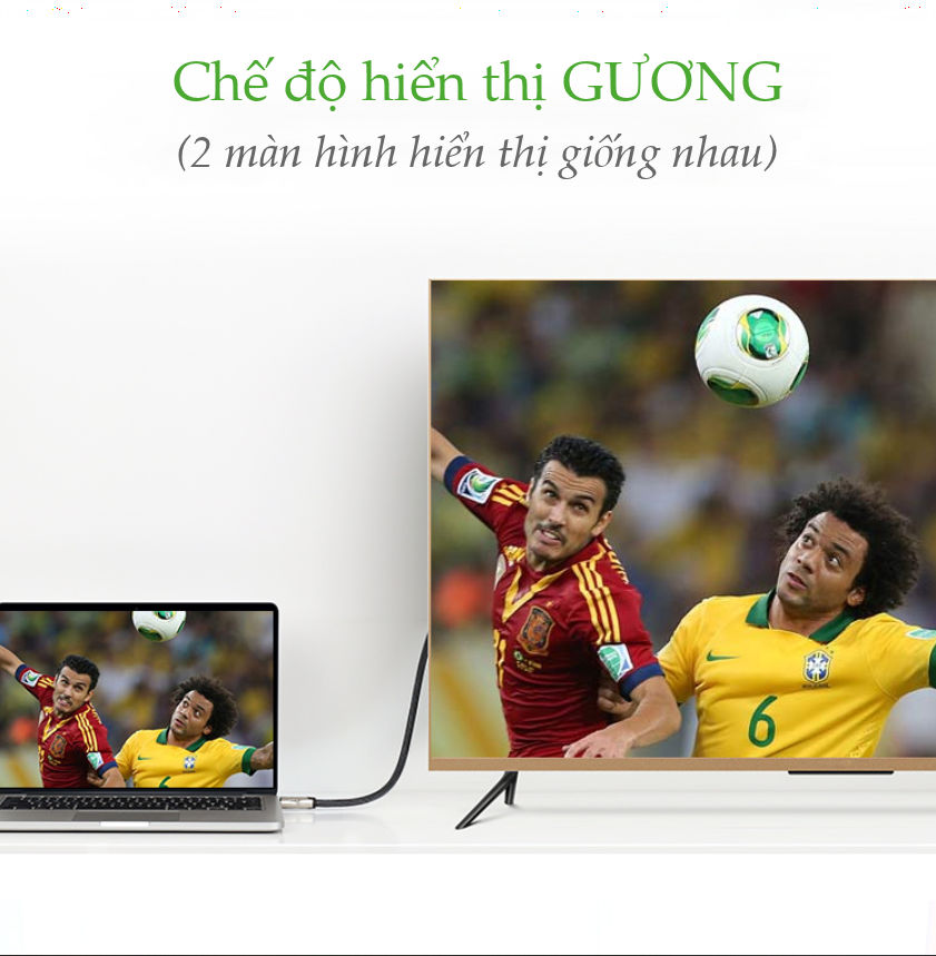 Cáp Chuyển Displayport 1.2 Sang HDMI 2.0 cao cấp, dài từ 1-5m UGREEN DP111