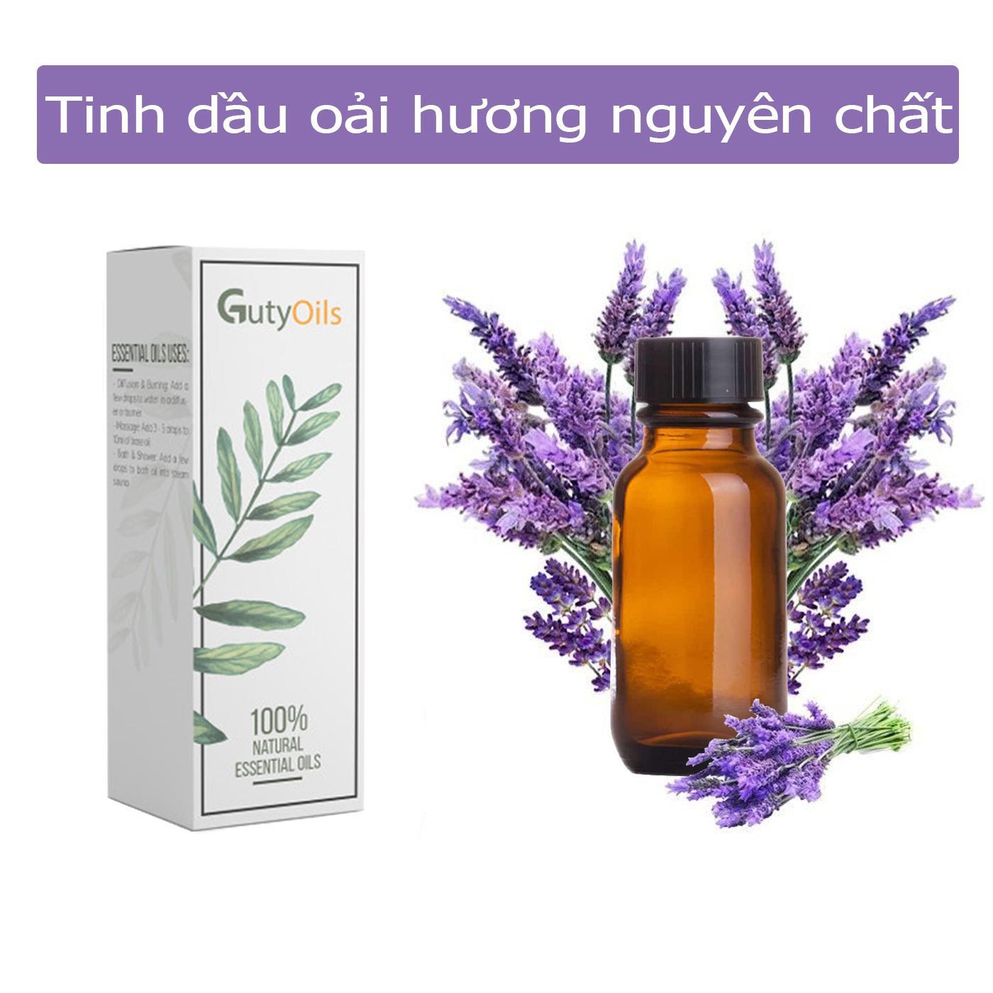 Tinh dầu oải hương nguyên chất ( Lavender Essential Oil ) GUTY, tinh dầu thiên nhiên, giúp bạn giảm căng thẳng, an thần, hương thơm dịu nhẹ